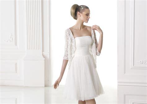 vestidos de novia cortos pronovias vestidos de novia cortos 161 espectaculares ejemplos para ti