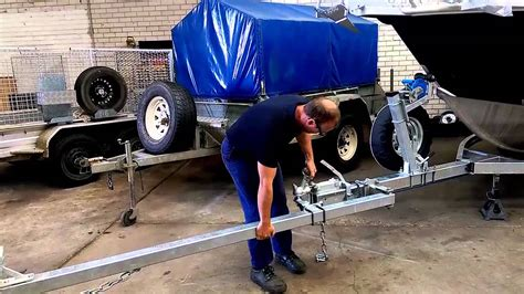 how to launch a boat beach launch a boat trailer modifications youtube