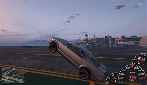 mod gta 5 fuel fast drag car handling gta5 mods com