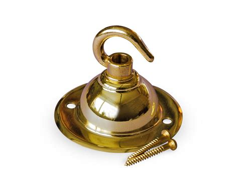 Brass Ceiling Hook by Brass Ceiling Hook Made In The Uk