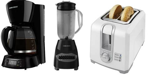 black and decker kitchen appliances kohl s early black friday sale black decker appliances