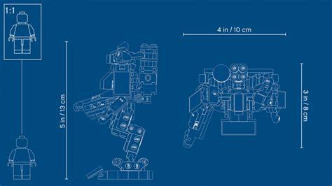 lego overwatch  omnic bastion blueprint