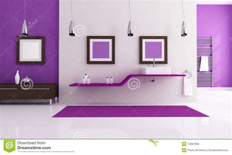 purple and white bathroom white and purple bathroom royalty free stock images image 14687839