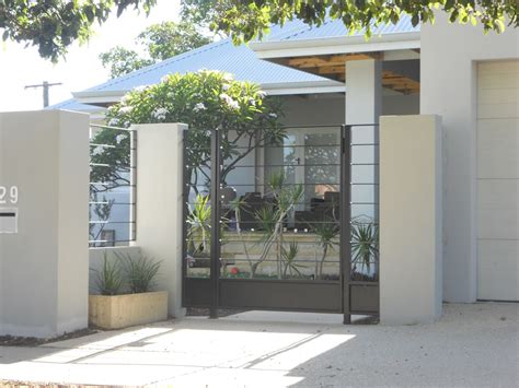 design gate house modern house