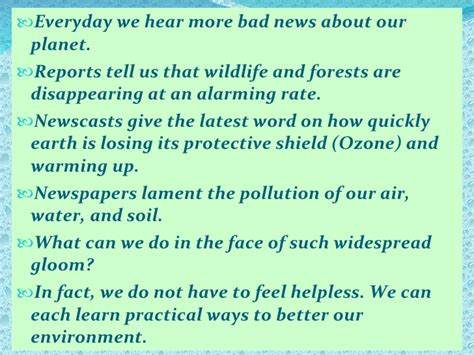 Can We Save Planet Earth Essay save earth
