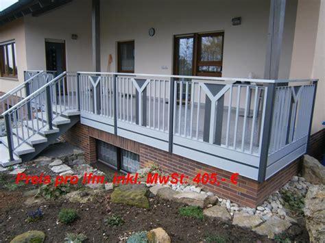 balkongeländer bausatz balkongelaender auburger balkongel 228 nder aus aluminium