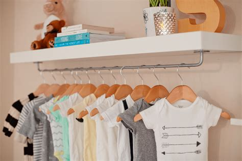 Nursery Wardrobe With Shelves make easy diy nursery wardrobe shelf fresh