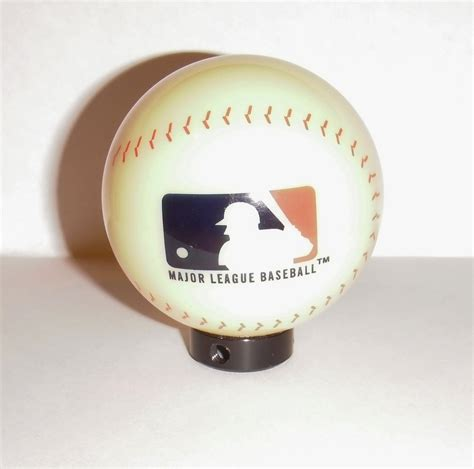 Baseball Shift Knob by Baseball Gear Shifter Shift Knob Universal Fit Custom