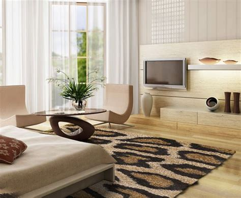 Living Room With Leopard Rug Living Rooms Designs With Animal Print Search