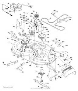 poulan pb195h42lt 96042013601 2011 07 parts diagram for mower deck cutting deck