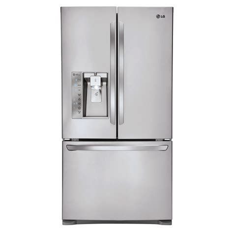 door refrigerator counter depth reviews shop lg 24 cu ft counter depth door refrigerator