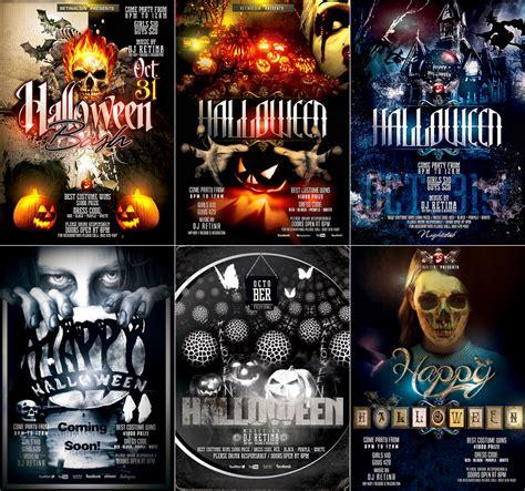 psd halloween flyer templates by retinathemes on deviantart