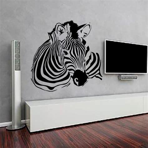 home interior design artistic quality poesia decorative aliexpress com buy high quality zebra wall stickers