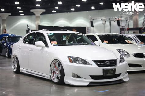 modified lexus is250 ca f s jp vizage modified front lip club lexus forums