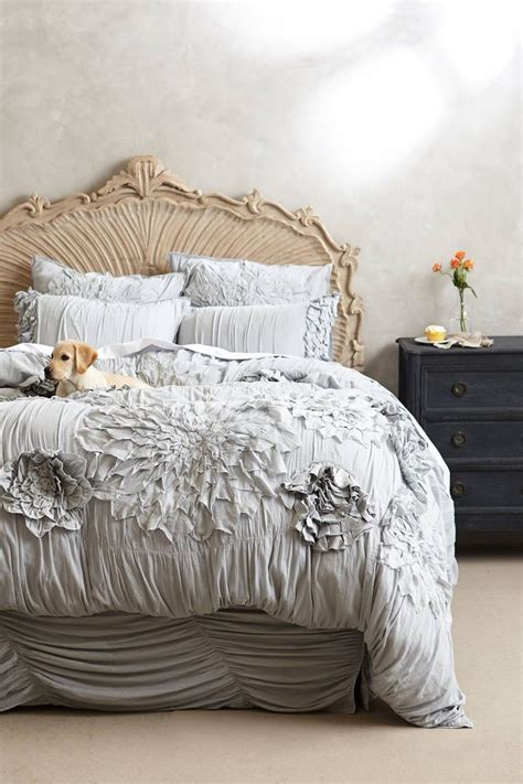 anthropologie bed georgina duvet maybe someday wedding events and head boards