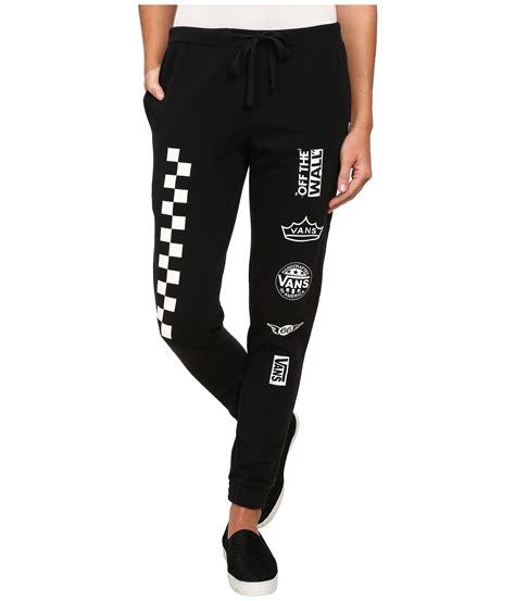 lyst vans signify sweatpants in black