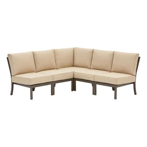 outdoor sectional sofa lowes outdoor sectional sofa lowes home the honoroak