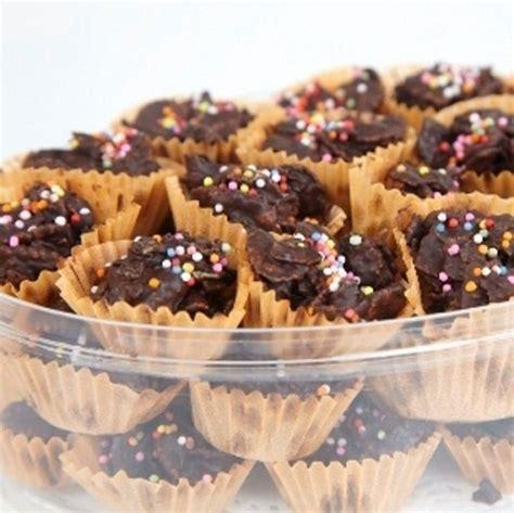 membuat kue kering cornflakes resep dan cara membuat kue kering coklat cornflakes yang