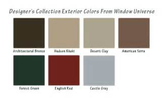 window colors energy efficient replacement windows