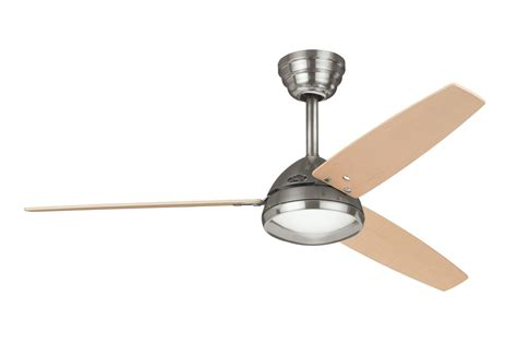 hunter brushed nickel ceiling fan hunter metro ceiling fan in brushed nickel