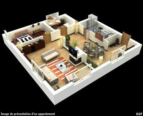 Kgp3d Archi Promotion Immobili 232 Re Infographie 3d Plan De Maison 3d