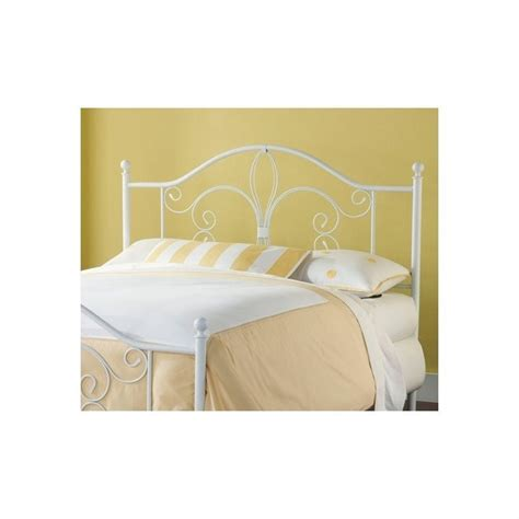 Spindle Headboards by Hillsdale Ruby Spindle Headboard In White 1687xxx Hb