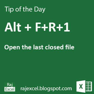 learning microsoft excel shortcut keys learn microsoft excel tips of the day using alt fr 1