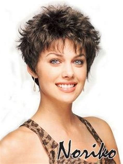 short hairstyles for women over 50 with thin crown short shaggy hairstyles for women over 50