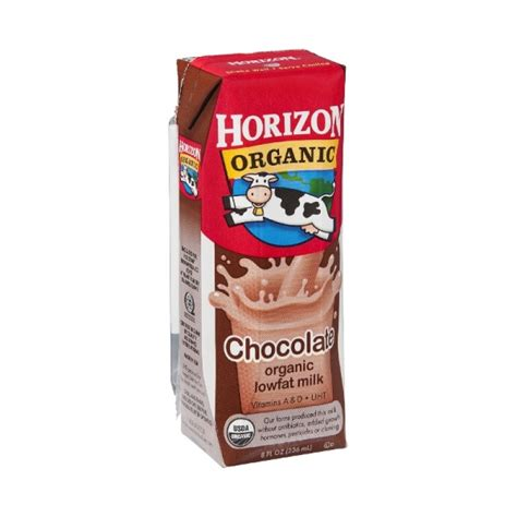 horizon organic lowfat chocolate milk shelf stable 8 oz
