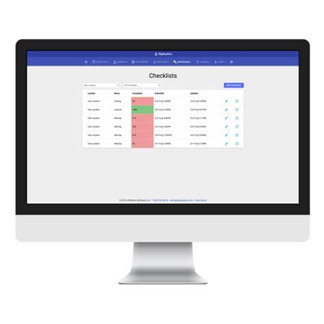 Index Of Checklists custom checklists module digiquatics