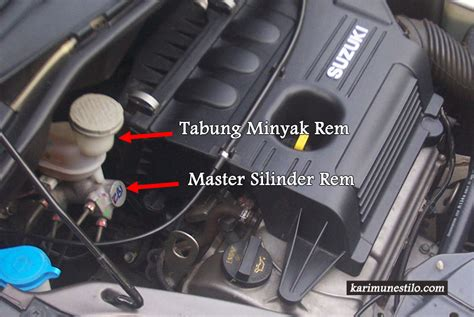 Kas Rem Mobil Karimun Estilo Mengenal Cara Kerja Sistem Rem Mobil