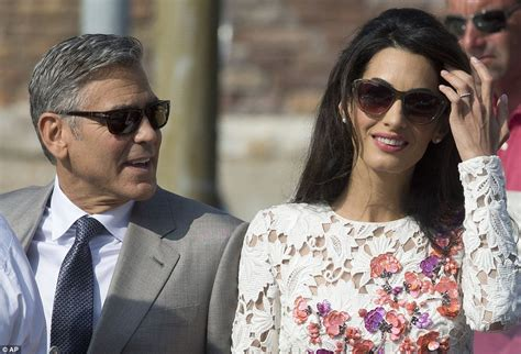 actor first name george amal alamuddin changes surname to clooney arabia weddings
