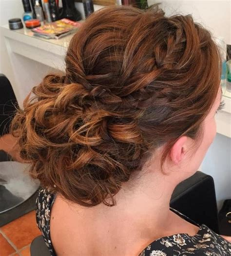 Prom Hairstyles Curls by 40 Most Delightful Prom Updos For Hair In 2018