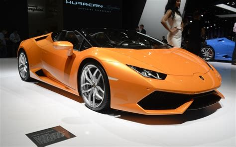 Lamborghini Hardtop Convertible Lamborghini Huracan Spyder Is A Convertible Speed