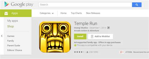 temple run for pc laptop free for windows 10 8 7 8 1 fount - Run Apk On Pc