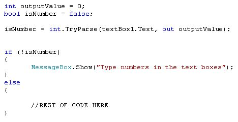 net tryparse pattern آموزش سی شارپ c بخش ۲۲
