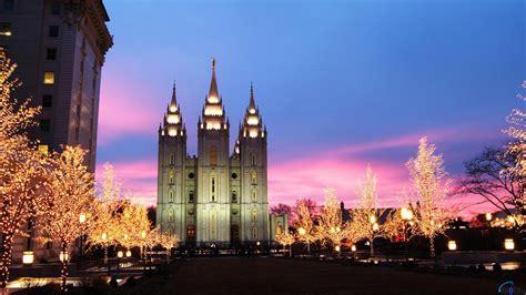 download wallpaper mormon temple at christmas salt lake