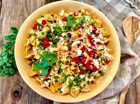 tex mex pasta salad tex mex pasta salad a hint of wine
