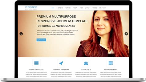 free responsive joomla templates for business lt business free one page responsive business joomla