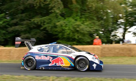peugeot fastest sebastien loeb is the fastest at goodwood 2014 in pikes