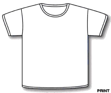 Coloring Page T Shirt by Free Coloring Pages