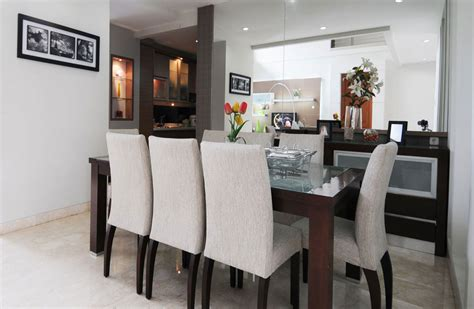 white and brown dining table dining room decorating ideas the simplicity in awesome