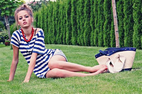 Sharefa Navy agathe w back south lookbook