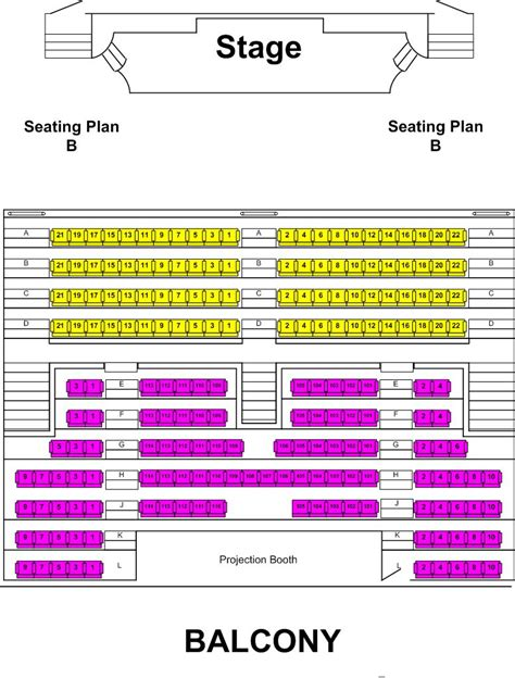 state theatre seating chart seating chart state theatre of bay city
