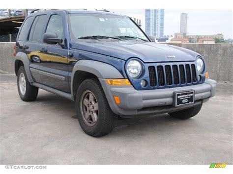liberty colors 2005 patriot blue pearl jeep liberty sport 80895589