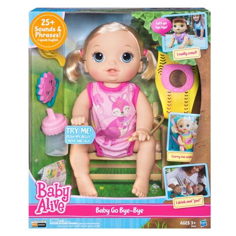 Baby Alive Baby Go Bye Bye baby alive baby go bye bye blondehasbro toys figures
