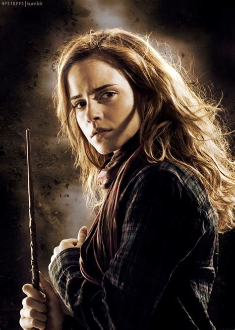with hermione hogwarts alumni golden trio wand