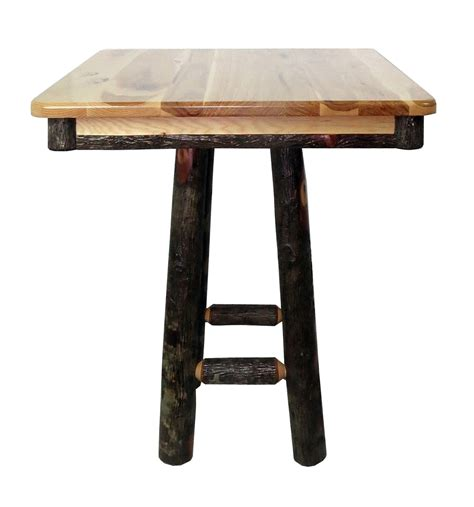 36 High Table by Restaurant Hickory 36 Quot High Pub Table 36 Quot Square
