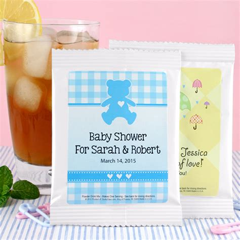 Baby Shower Tea Favors by Baby Iced Tea Shower Favors All About Gifts Baskets