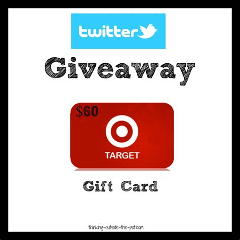 Target Mobile Gift Card Account - 60 dollar target card twitter giveaway blogher